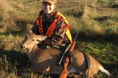 My granddaughter's second deer. Harvested it during an Oklahoma Youth Hunt. This will forever be one of my favorite weekends of all time.