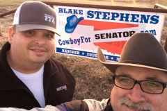 "Blake ""Cowboy"" Stephens and Turon Vaughan, family owned restaurant at Chance, Oklahoma, Double R&P. Great food and great people!"