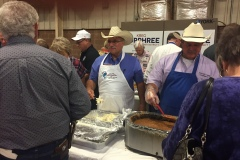 "Blake ""Cowboy"" Stephens serving others on the campaign trail when he ran for Governor in 2018, This was the  GOP Stephens County Fundraiser at Duncan, Oklahoma."