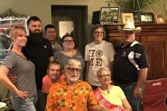 Cowboy's family celebrate his mother's 80th Birthday. She is his rock.