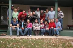 Thanksgiving with Cowboy's family in Sapulpa, Oklahoma.