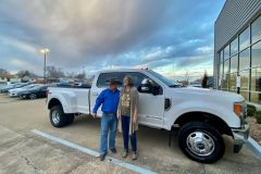 "Blake's new truck. ""It's better than I deserve. Another one of the Lord's blessings in my life!"""